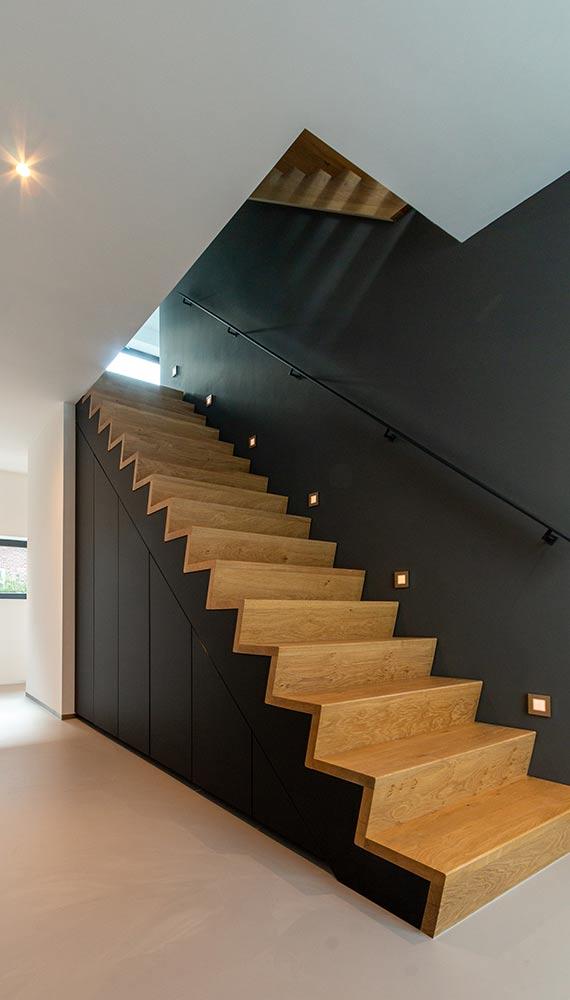 moderne trapkast maatwerk