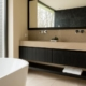 vrijstaand bad met badmeubel